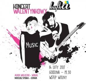 Koncert walentynkowy: Agata Wieliczko & Mateusz Rybka